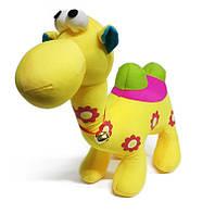 Мягкая игрушка Верблюд С колокольчиком