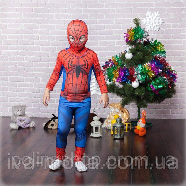 """Детский карнавальный костюм """"Человек-паук"""" (Спайдермен)"""