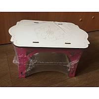 Стол деревянный прямоугольный (074)