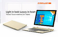 "Планшет Teclast Tbook 10 S 10,1"" FullHD, X5 Z8350, 4Gb/64GB, Windows 10 + Android 5.1. Золотой."