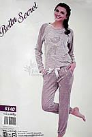 Bella Secret велюровая молодежная пижама (пудра) № 5140, фото 1