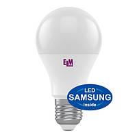 Лампа светодиодная ELM LED B60 12W PAS E27 4000K PA10