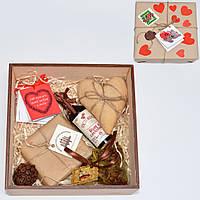 Подарочный набор для девушки, для женщины. Подарок на 14 февраля. Оригинальный подарок. 100 причин любви
