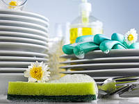 Натуральные средства для мытья посуды