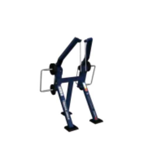 Тренажер призначений для тренування триголовий м'язи плеча.