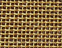 Металлическая сетка латунь, 0,4-0,2 мм