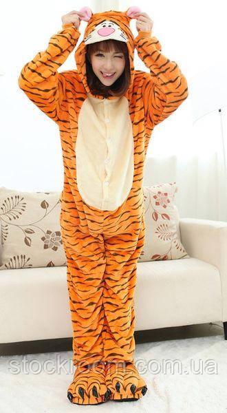 Пижама Кигуруми Тигр (M)  продажа 6bfd15141212f