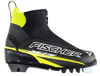 Ботинки для беговых лыж Fischer XJ Sprint Black-Yellow 27