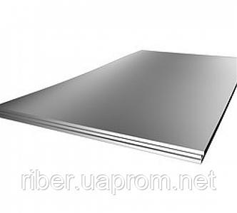 Лист AISI 321 толщиной 20мм - 1х2м, №1