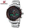 Мужские наручные кварцевые электронные часы Naviforce NF9024-SBR