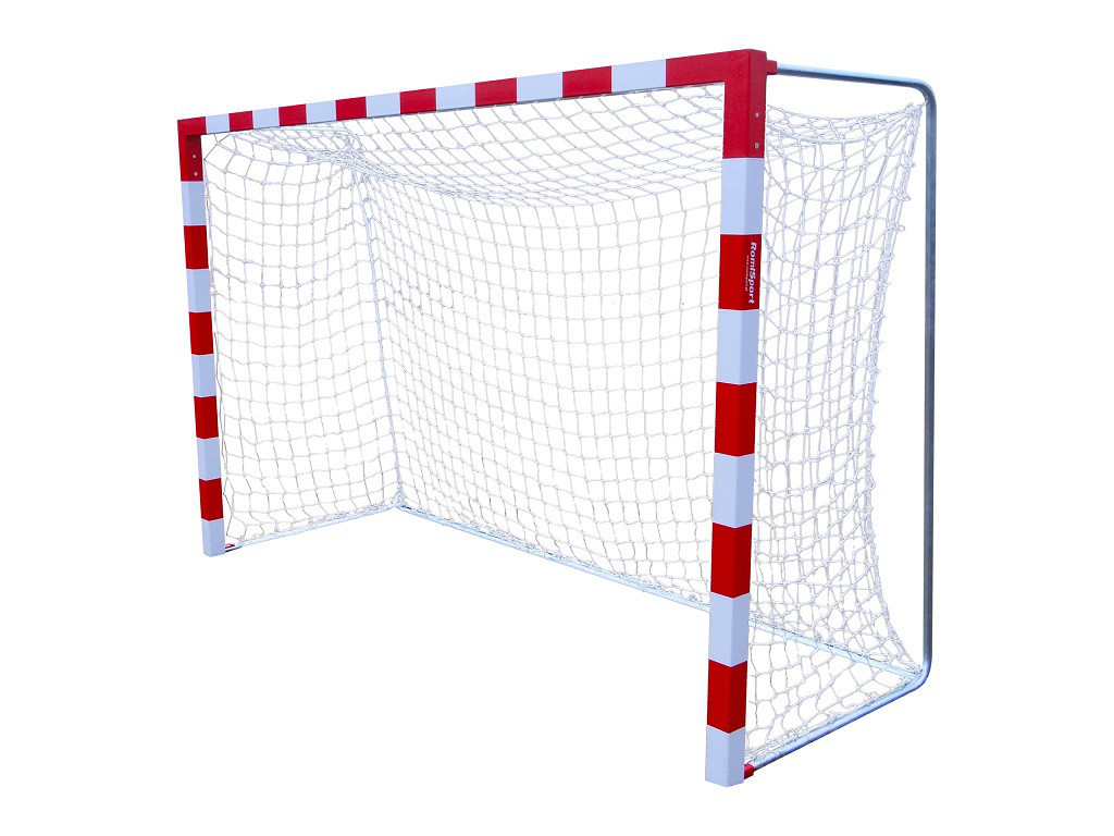 Профессиональная сетка для мини-футбола, гандбола: глубина 1,1 м.; шнур 4,5 мм. (капрон)