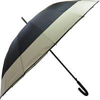 Зонт-трость полуавтомат Ziller Черный (ZL-402)