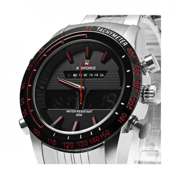 мужские часы naviforce nf9024 sbr