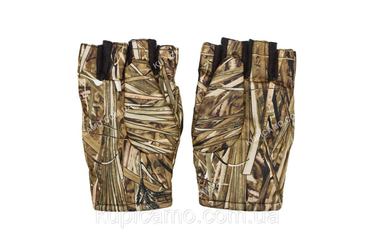 Перчатки-варежки мембранные  зимние камуфляжные