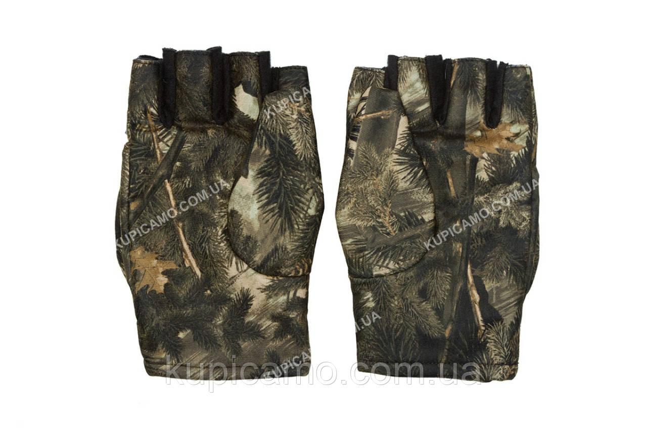 Перчатки-варежки мембанные зимние камуфляжные