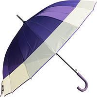 Зонт-трость полуавтомат Ziller Сиреневый (ZL-402\5)