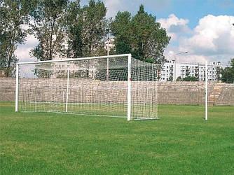 """Профессиональная футбольная сетка """"Премьер Лига"""" с шнура 4,5мм.(капрон)"""