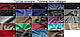 """Жіноча вишита сорочка (блузка) """"Квіткова блакить"""" (Женская вышитая рубашка (блузка) """"Цветочная лазурь"""") BL-0045, фото 4"""