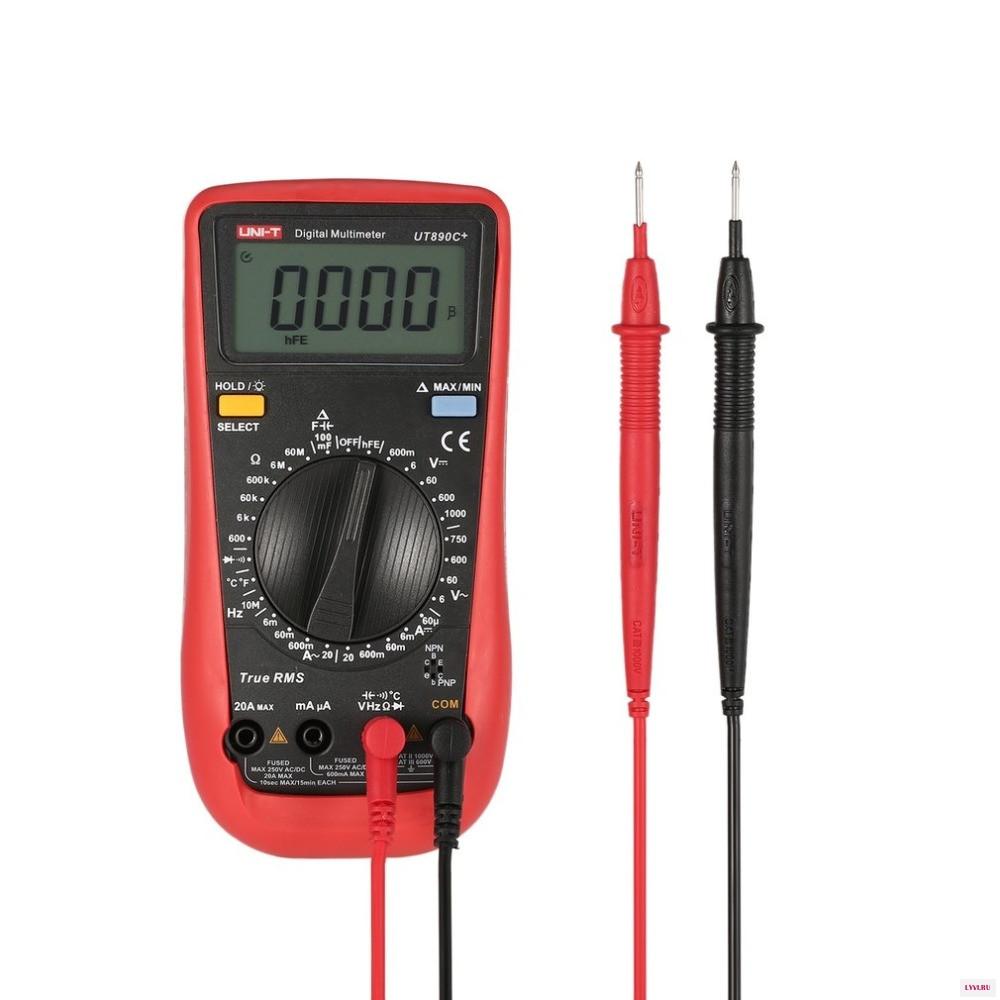 Цифровой мультиметр UNI-T UT890C+