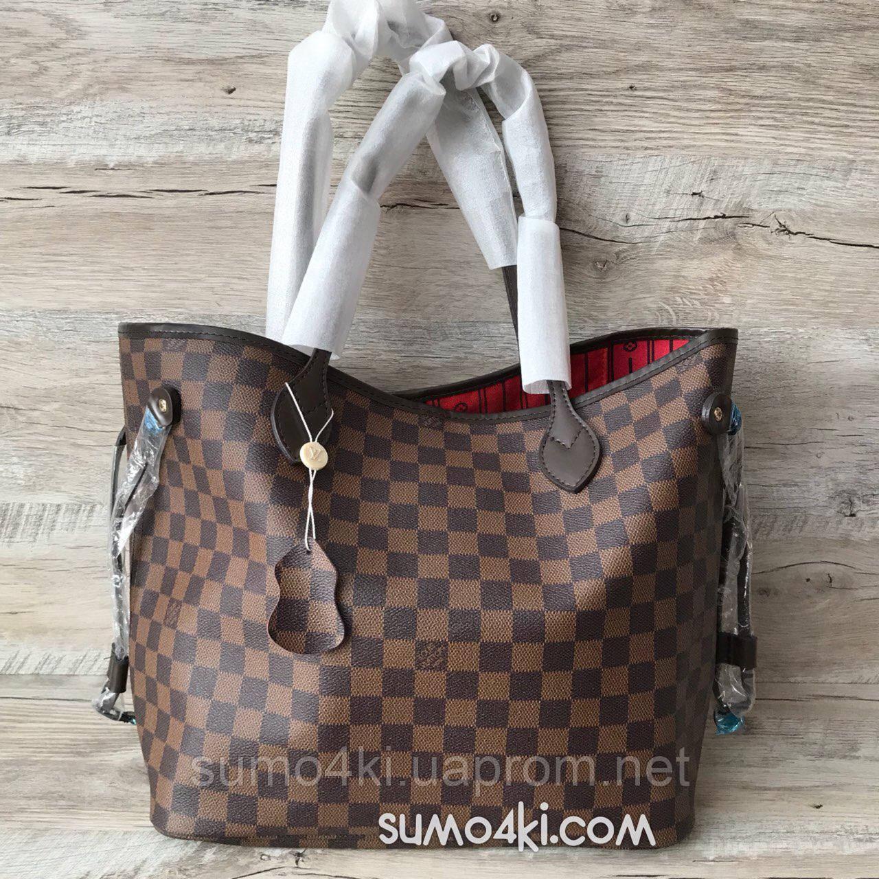 bb4ba38da8e1 Купить Женскую кожаную сумку Louis Vuitton neverfull оптом и в ...