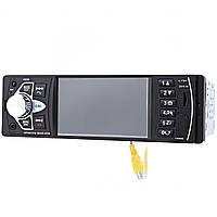 ✓Автомагнитола Lesko 4022D экран 4.1'' TFT 1 Din прием звонков AUX USB карта памяти FM 2 пульта в комплекте*