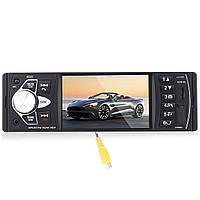 ✓Автомагнитола Lesko 4022D экран 4.1'' TFT 1 Din прием звонков AUX USB карта памяти FM 2 пульта в комплекте