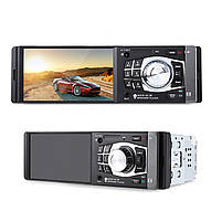 ★Автомагнитола Lesko 4012B WinCE 4.1'' 1 Din Bluetooth прием звонков AUX/FM/USB/TF + пульт ДУ*, фото 4