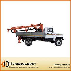 Бурильно-крановая машина БКМ-3У на автомобилях ГАЗ 33081, ГАЗ 33086 Стройагромаш