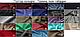 Чоловіча вишита сорочка ручної роботи з синім орнаментом (Мужская вышитая рубашка ручной работы с синим орнаме, фото 3
