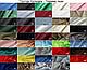 Чоловіча вишита сорочка ручної роботи з синім орнаментом (Мужская вышитая рубашка ручной работы с синим орнаме, фото 4
