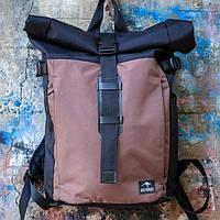 100 % ОРИГИНАЛ Городской рюкзак Maracana Brown. Стильный и строгий дизайн гармонично вписывается в городе, фото 1