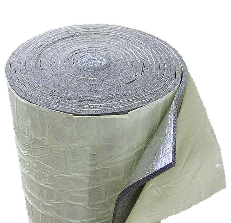 Изолон 300 ППЕ НХ 5 мм самоклеющийся фольгированный