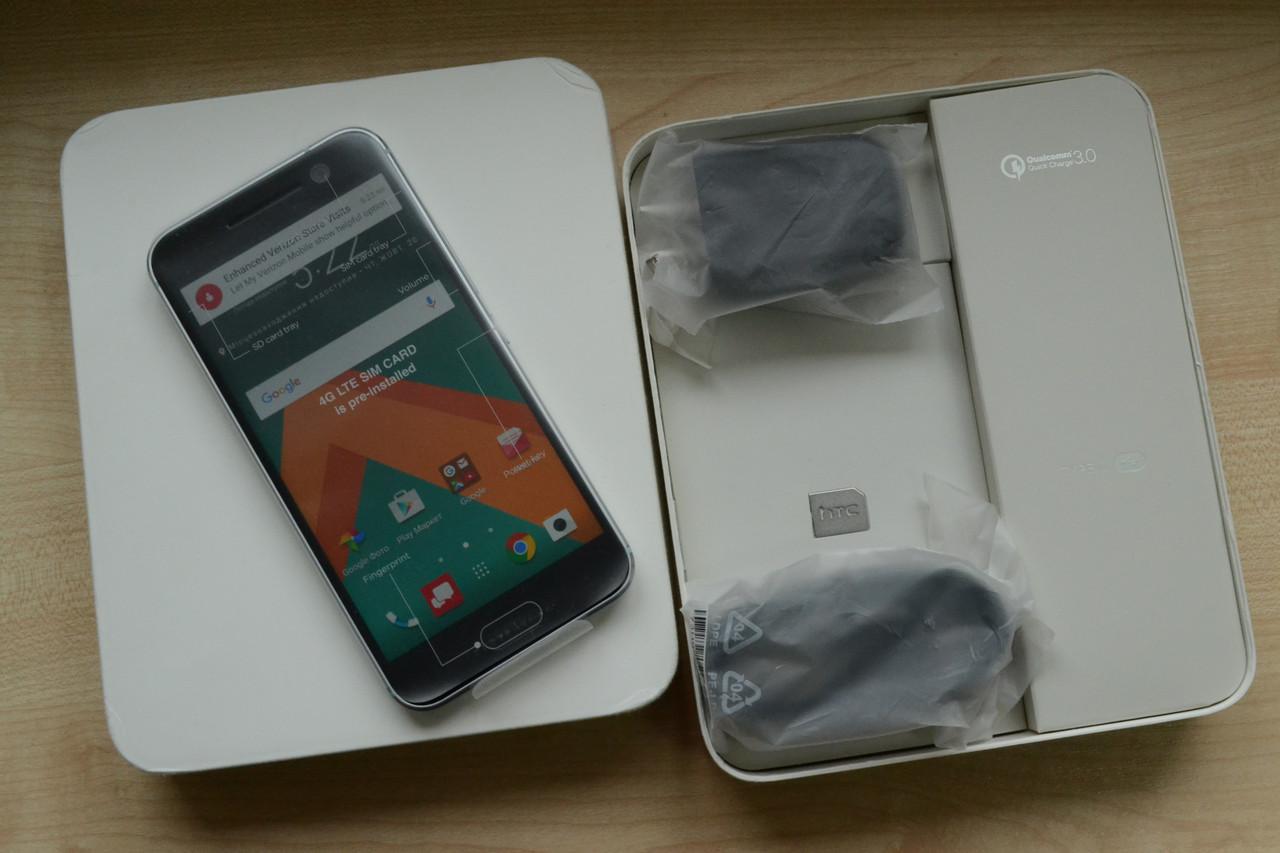 Новый HTC 10 Silver - 32Gb, 4Gb RAM, 12MP Оригинал!
