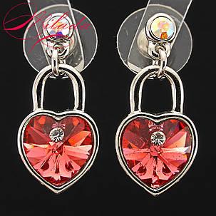 Серьги с кристаллами SWAROVSKI., фото 2