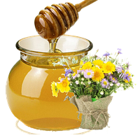 Мед різнотрав'я + гречка, 0.5 л
