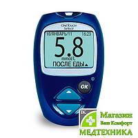 Система контроля уровня глюкозы в крови (глюкометр) One Touch Select , фото 1