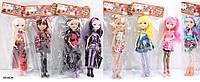 Кукла EAH YF1009-1YF1010-1 240шт2 7 видов,на шарнирах, в пак.28см