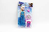 Кукла Frozen 3219A 240шт2 2 вида,с трюмо,стульчиком,сумочкой в пакете 27см