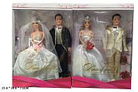 Кукла Жених и Невеста ZR824 96шт2 2 вида, с фата, цветы, в кор.23347см