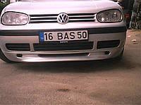 Volkswagen Golf 4 Передняя нижняя юбка под покраску