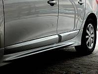 Renault Fluence боковые пороги под покраску