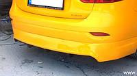 Renault Fluence задняя нижняя юбка под покраску