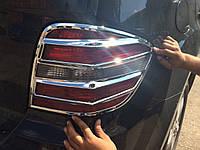 Mercedes ML 164 Хром накладки на стопы 2 шт пласт