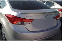 Hyundai elantra 2011 Спойлер под покраску