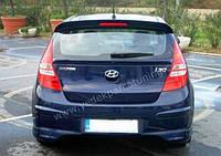 Hyundai i30 задняя нижняя юбка