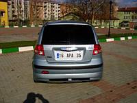 Hyundai Getz Задняя нижняя юбка