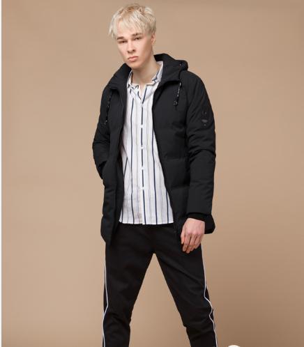 Куртка молодежная Braggart Youth черная топ реплика