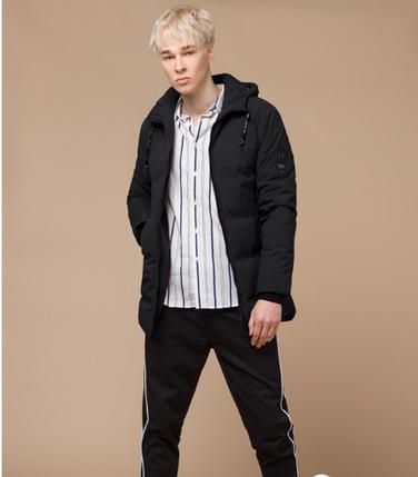 Куртка молодежная Braggart Youth черная топ реплика, фото 2