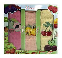 Vianna набор полотенец 45x65 для кухни (3-шт) хлопок