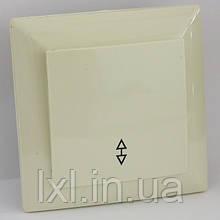 Вимикач прохідний (білий, крем) LXL ULTRA